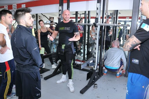 Curs acreditat instructor fitness organizat de Wellzon la ONEGYM@4x