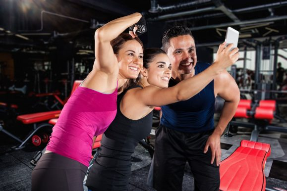 concues selfie challenge ONEGYM